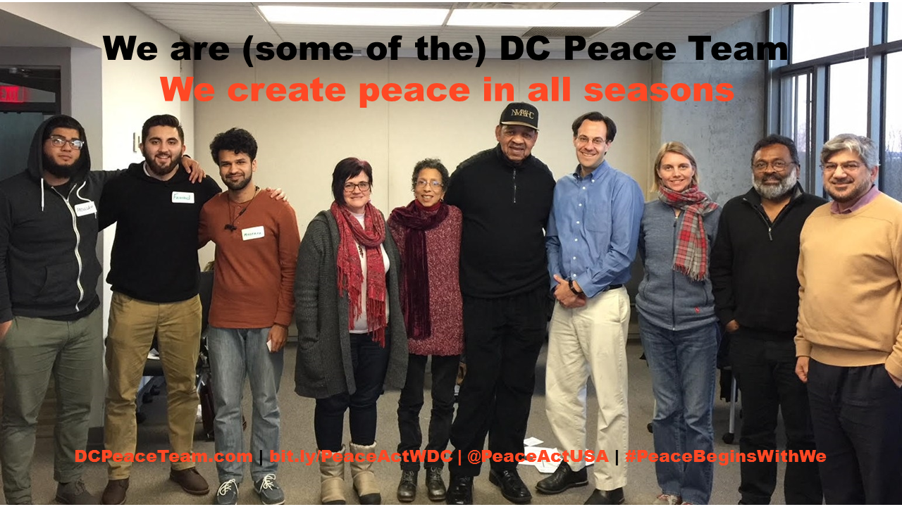 DC Peace Team Creates Peace in All Seasons