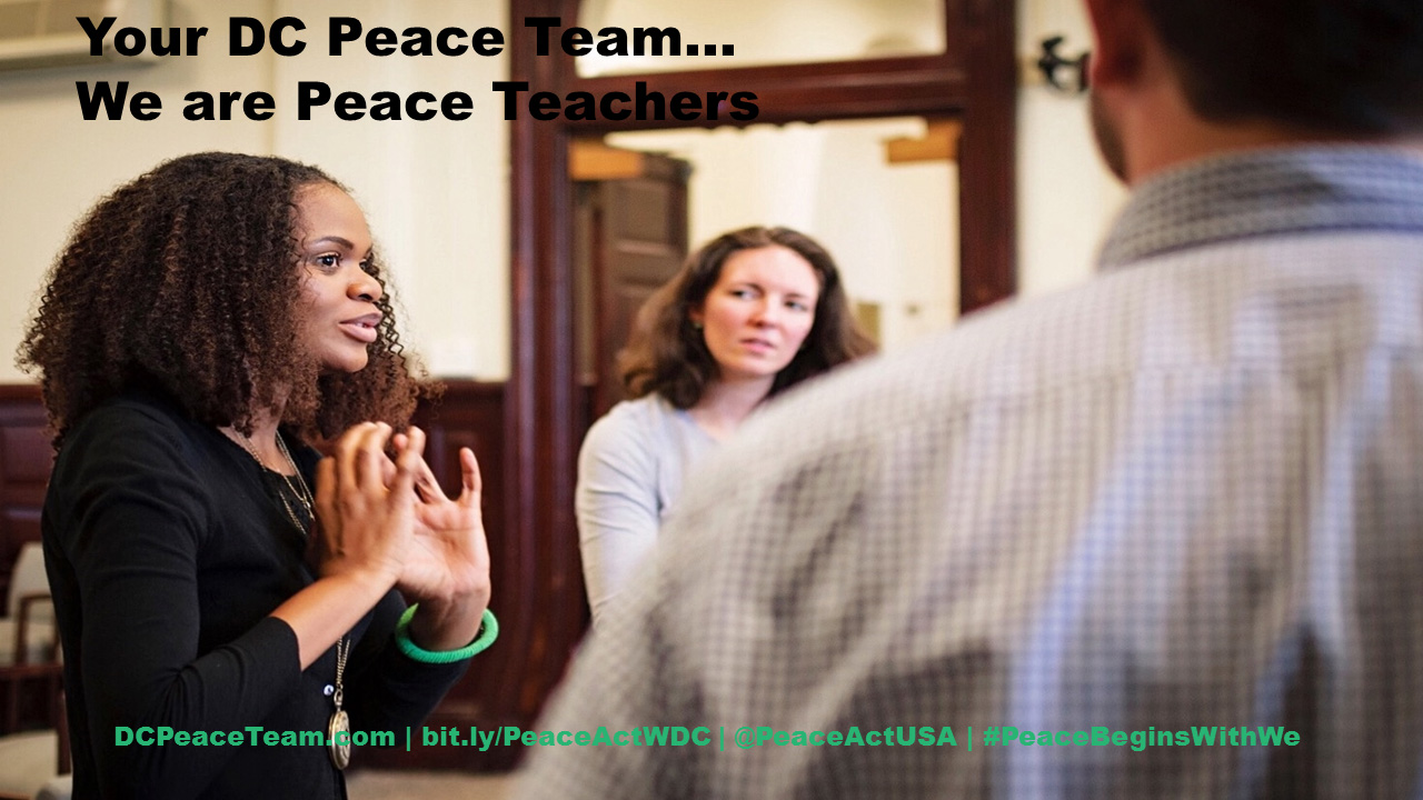 DC Peace teachers